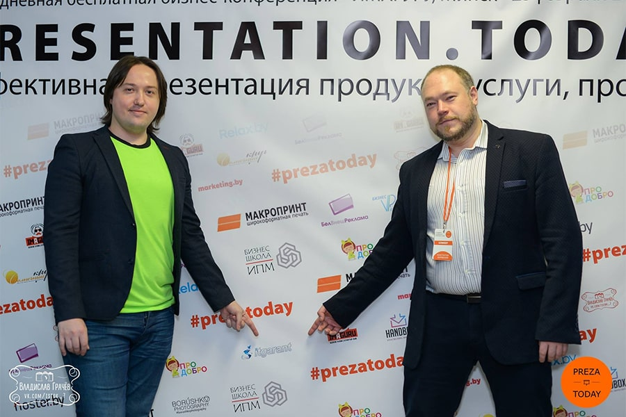 We became a Partner at #Prezatoday Web Development Conferences - Project Presentation.today